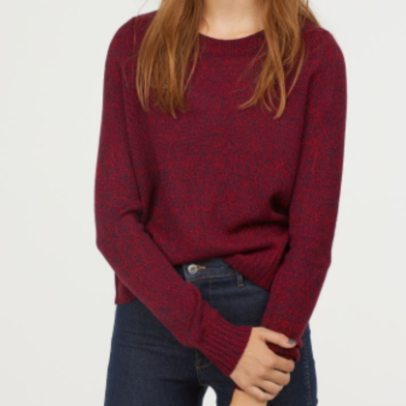 d73787f11d9 H&M Divided Knitted Marled Jumper Sweater NWT NWT
